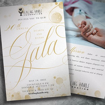 Health Charity Gala Invitation