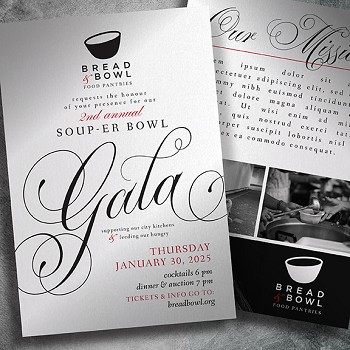 Hunger Gala Invitation