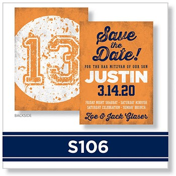 S106 Save the Date